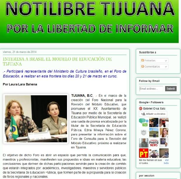Interesa a Brasil el Modelo de Educacion de Tijuana - Notilibre Tijuana.jpg