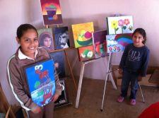ninos pintores Ensenada
